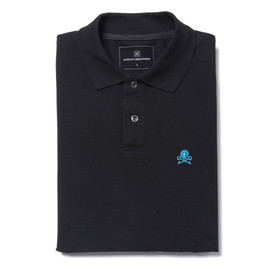uniform experiment - S/S SKULL POLO SHIRT