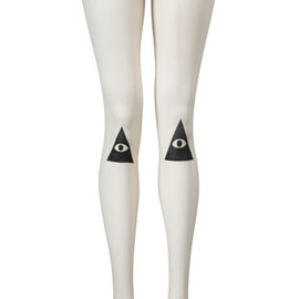 DROP DEAD - Knee Vision Tights - main image