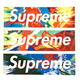 Supreme - Damien Hirst BOX LOGO STICKER