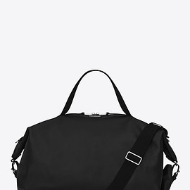 Yves Saint Laurent - ID Bag In Black Matt Leather