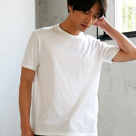 green label relaxing - KC ◎GIZA PKT C/N S/S ポケット Tシャツ