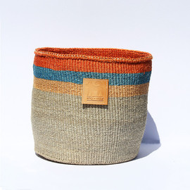 Hiro and Wolf - Medium Stone Sisal Basket