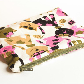 Luulla - Zipper Pouch - Cool Cats