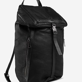 Y-3 - TOILE LEATHER BACKPACK