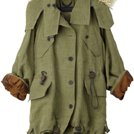 BURBERRY PRORSUM - Military Coat