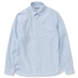 UNIVERSAL PRODUCTS - PIN-STRIPE REGULAR COLLAR SHIRTS