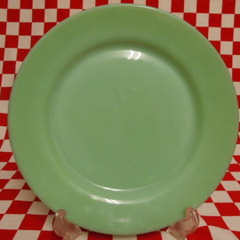 Jadeite Magic Gallery - Fire King Jadeite Restaurantware G306 Dinner Plate #23