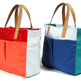 ANYA HINDMARCH X UNITED ARROWS - NIVES (CANVAS)