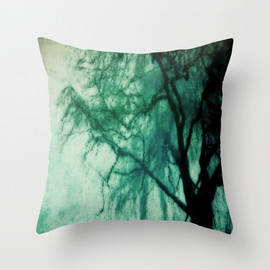 Society6 - Blue October Throw Pillow