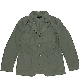ENGINEERED GARMENTS - Bedford Jacket-Cotton Double Cloth-Olive