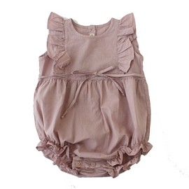 Babe & Tess - Baby romper dress mauve