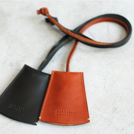 MARGARET HOWELL - Leather Key Neck Strap