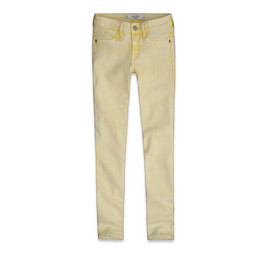 Abercrombie & Fitch - SUPER SKINNY ANKLE JEANS
