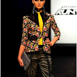 Seth Aaron - Seth Aaron's work in Project Runway: Fashion that's fit to print