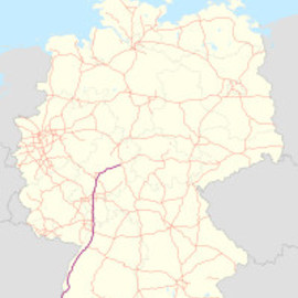 Autobahn Germany - A5