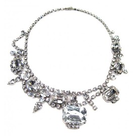 Tom Binns - WHITE BIG JEWEL NECKLACE
