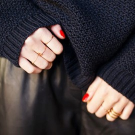 ring&Red nails