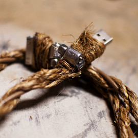 cdadamo - Manila Rope iPhone iPad iPod Cable Rustic