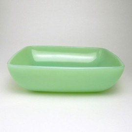Fire King - Jadeite Charm Soup Bowl