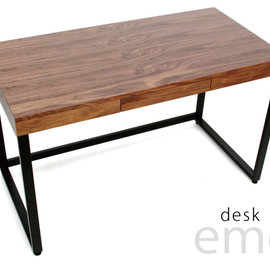 emo. - Walnut Desk