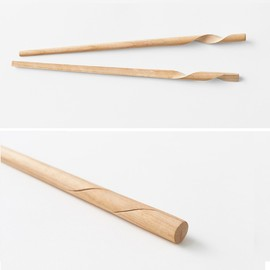 Nendo for Hashikura Matsukan (箸蔵まつかん), 佐藤オオキ - Rassen chopsticks