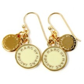 MARC BY MARC JACOBS - ENAMEL DISCS EARRINGS