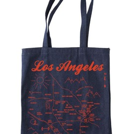 Maptote - Los Angeles MAP TOTE
