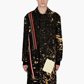 Raf Simons - / Sterling Ruby Men's Limited Edition Hand-Bleached Coat