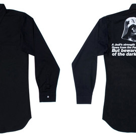 COMME des GARCONS SHIRT - CDG Shirt x Star Wars Shirt (White/Black)
