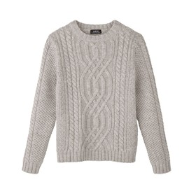 A.P.C. - ANDES WOOL ISLAND PULLOVER