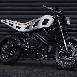 """The House of Cool - """"X700"""" YAMAHA XSR700"""