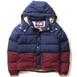 THE NORTH FACE PURPLE LABEL - Vertical Down Jacket