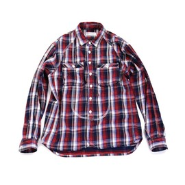 UCS TRADEMARKS - 20/1 COTTON FLANNEL CHECK L/S SHIRT