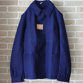 1970's deadstock french nylon summer coat2