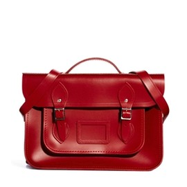 """Cambridge Satchel Company - 14""""Red Leather Backpack"""