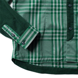 White Mountaineering - Elbow Cut Check Shirts