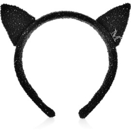 MAISON MICHEL - Yoko embellished cat ears headband
