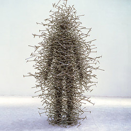 Antony Gormley - Quantum Cloud XX (tornado)