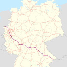 Autobahn Germany - A3