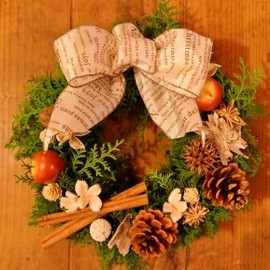 min arbetsyta - christmas wreath