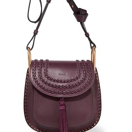 Chloé - Hudson small whipstitched leather shoulder bag