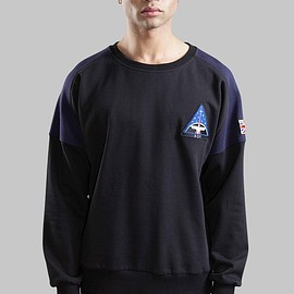 Boy London - Boy Space Badge Sweat - Black