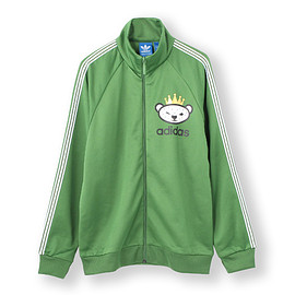 adidas originals, NIGO - BEAR FZ MOCK SWEAT