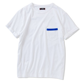 CASH CA - PIPING POCKET TEE