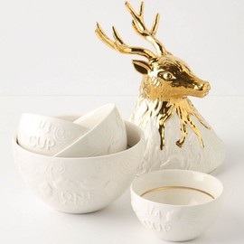 Anthropologie - Enchanted Buck Measuring Cups