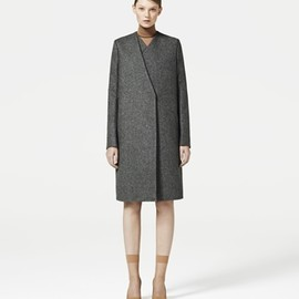 COS - Layered wool coat