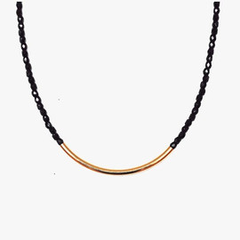 MION - Two-tone necklace v2 (black)