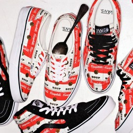 Supreme x Vans - Supreme x Vans Campbell's Soup Collection