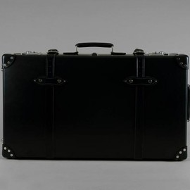 """GLOBE-TROTTER - CENTENARY Black & Black - 30"""" EXTRA DEEP SUITCASE WITH WHEELS"""