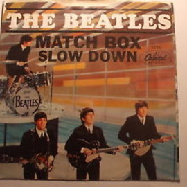 "The Beatles - Matchbox / Slow Down 7"" US Capitol 5255"